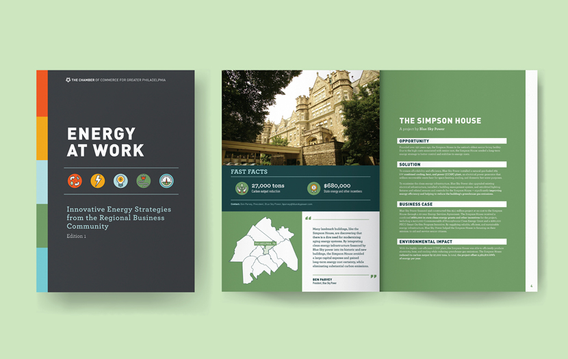 Energy at Work Publication Design