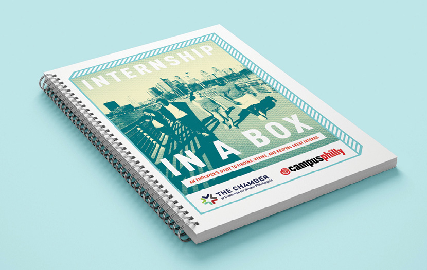 Internship in a Box - Publication Design
