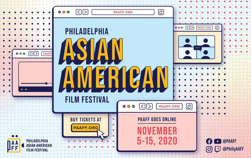 Philadelphia Asian American Film Festival Campaign Design